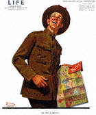 Norman Rockwell's So This Is Berlin from the September 26, 1918 Life Magazine cover