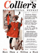 Norman Rockwell's The Little Model from the March 29, 1919 Collier's cover