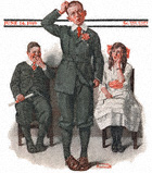 The Valedictorian from the June 14, 1919 Saturday Evening Post cover
