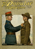 Norman Rockwell's American General and French Soldier from the June 20, 1919 Popular cover