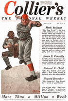 Norman Rockwell's Baseball Player from the June 28, 1919 Collier's cover