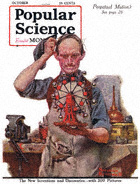 Norman Rockwell's Perpetual Motion from the October 1920 Popular Science cover