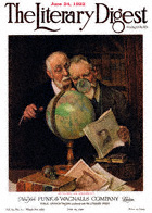 Norman Rockwell's Settling an Argument from the June 24, 1922 Literary Digest cover
