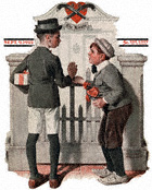 Rivals from the September 9, 1922 Saturday Evening Post cover