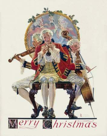 Norman Rockwell - Merry Christmas: Concert Trio