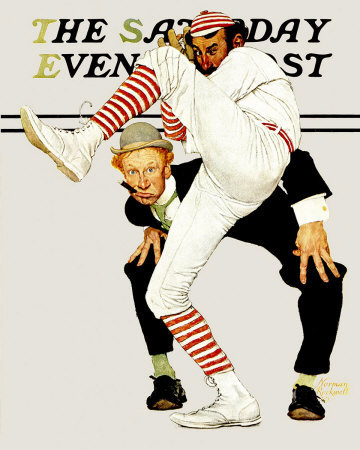 Norman Rockwell: Hundredth Year of Baseball