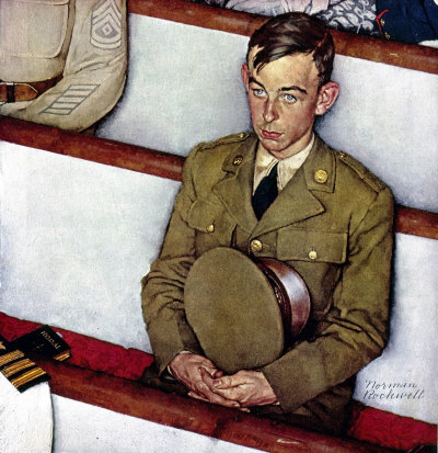 Norman Rockwell: Willie Gillis In Church