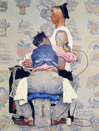 Norman Rockwell: Tattoo Artist
