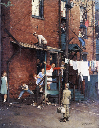 Norman Rockwell: The Homecoming