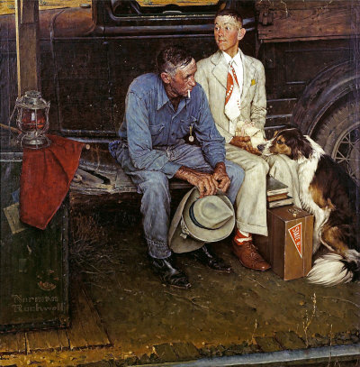 Norman Rockwell: Breaking Home Ties