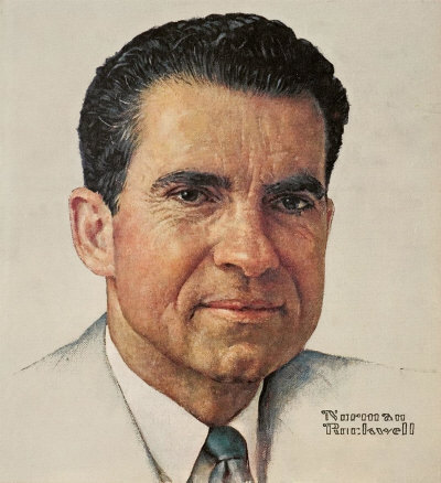 Norman Rockwell's Portrait of Richard M. Nixon