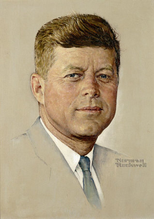 Norman Rockwell's Portrait of John F. Kennedy