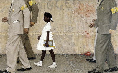 Norman Rockwell: The Problem We All Live With