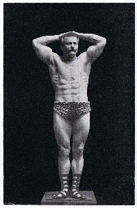 Eugen Sandow Photo from Body Building or Man in the Making