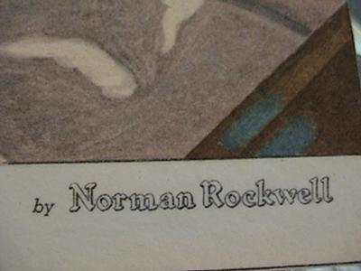 Norman Rockwell Signature
