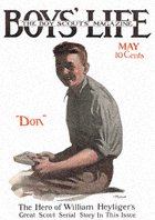 Don Strong from the May 1915 Boys' Life cover