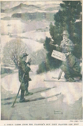 Norman Rockwell This Way to Christmas 1916