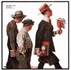 Norman Rockwell's One More Week of School from the June 14, 1919 Country Gentleman cover