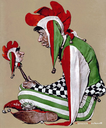 The February 11, 1939 Saturday Evening Post cover by Norman Rockwell entitled Jester