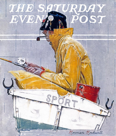 The April 29, 1939 Saturday Evening Post cover by Norman Rockwell entitled Sport