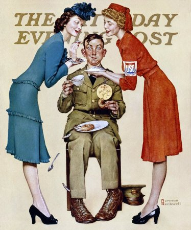 Norman Rockwell: Willie Gillis: USO