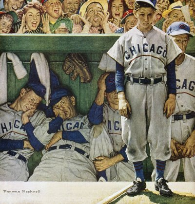 Norman Rockwell: The Dugout