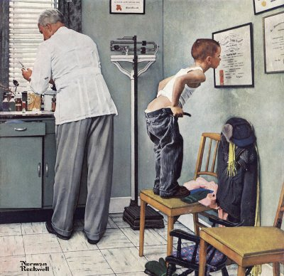 Norman Rockwell: Before The Shot