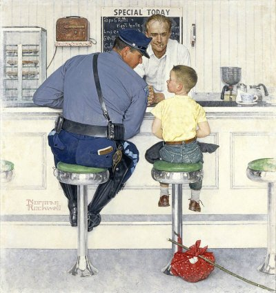 Norman Rockwell: The Runaway
