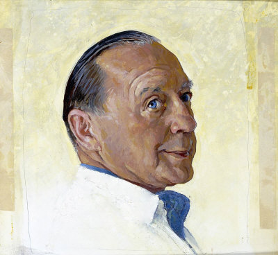 The March 2, 1963 Saturday Evening Post cover by Norman Rockwell entitled Portrait of Jack Benny
