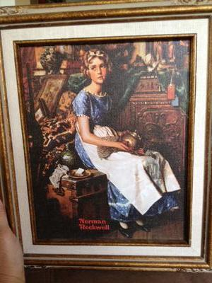 1923 Literary Digest Cover by Norman Rockwell: Dreams in the Antique Shop