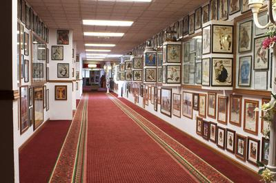 One Hallway of Photos